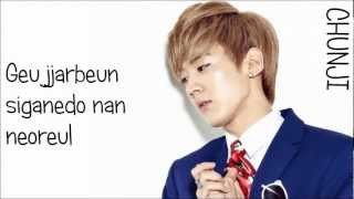 Teen Top - The Back of My Hand Brushes Against Yours [Romanized Lyrics]