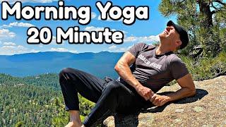 20 Min Morning Yoga Full Body Stretch (POWER YOGA STRENGTH)