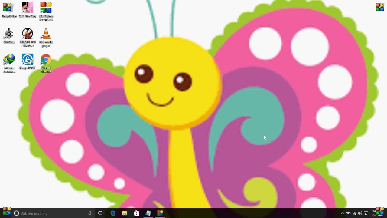 how to change windows 10 desktop