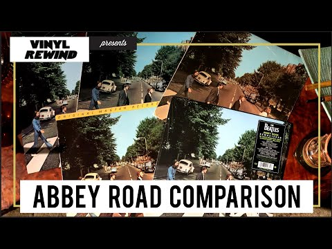 The Beatles Abbey Road 2019 Anniversary Mix Vinyl Comparison | Vinyl Rewind