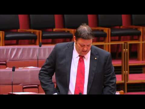 Senator Lazarus speaks on Aboriginal Legal Service