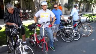 The San Diego Electric Bike Club Kilowatt Hour Group Ride---3/3/2013---Video #1