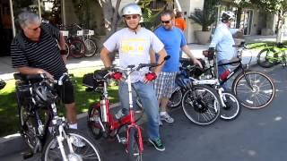 The San Diego Electric Bike Club Kilowatt Hour Group Ride---3/3/2013---Video #1