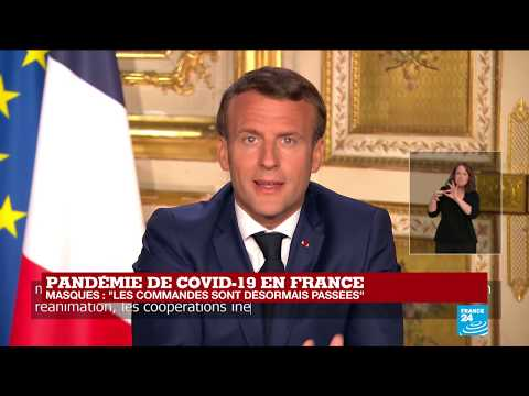 REPLAY - Covid-19: Allocution d'Emmanuel Macron à propos du coronavirus en France