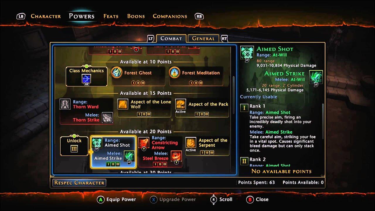 Neverwinter Hunter Ranger Pvp Build