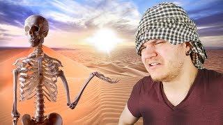 Et Si Vous Étiez Perdu au Milieu du Désert du Sahara ? (en 360s)