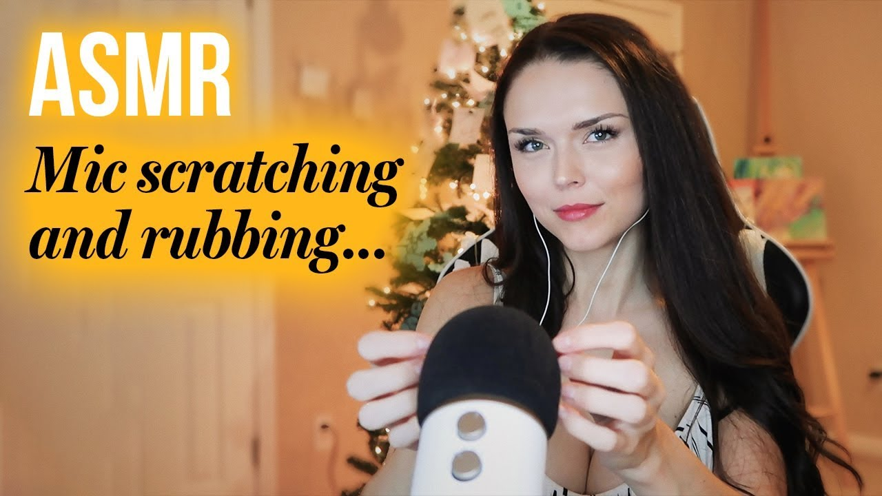 ASMR // Mic Scratching and Rubbing (no talking)