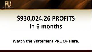 1 Million PROFITS in 6 Months | Statement Proof | Forex Undress
