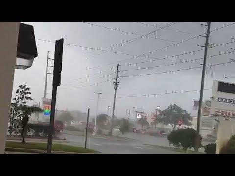 Tornado & Severe Storms Swept Across Tampa, Florida (Nov 2, 2018)