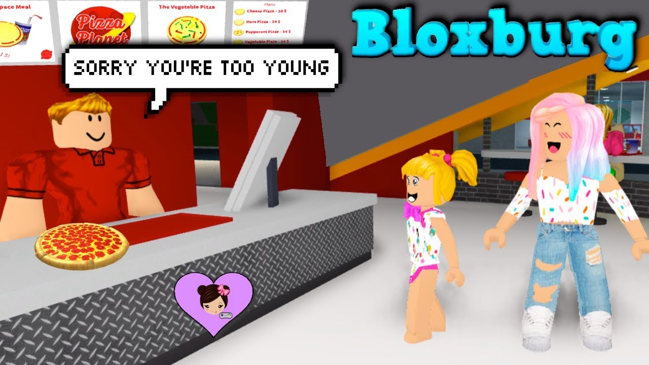 Can Baby Goldie Get A Job In Bloxburg Roblox Roleplay With Titi