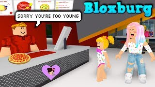 Can Baby Goldie Get A Job in Bloxburg? Roblox Roleplay with titi Games