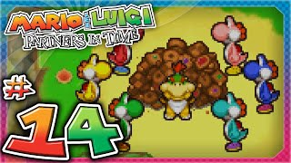 Mario and Luigi: Partners In Time - Part 14: Only One Way Out!