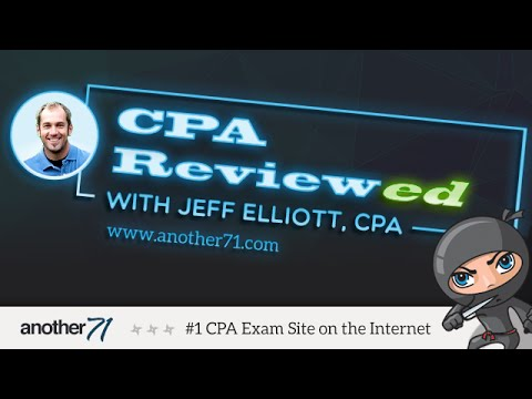 Beta Alpha Psi - CPA Exam Questions - Another71