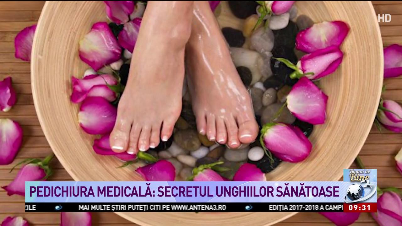Pedichiura Medicală Secretul Unghiilor Sănătoase Youtube