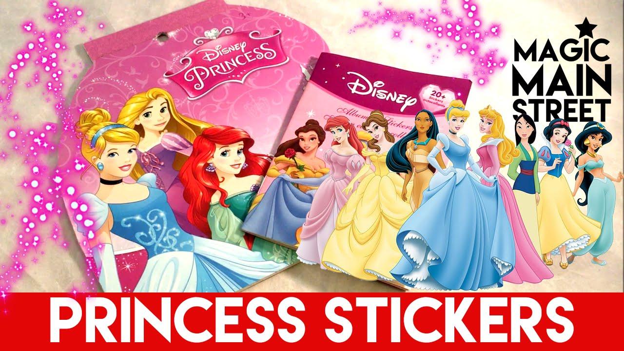 Disney Princess Sticker Books