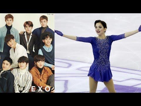 How EXO Inspires Russian Figure Skater Evgenia Medvedeva