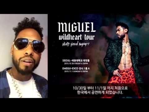 Miguel Announces Wildheart Tour in Seoul and Daegu