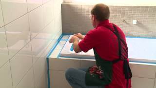 How To Silicone Seal A Bath - DIY At Bunnings