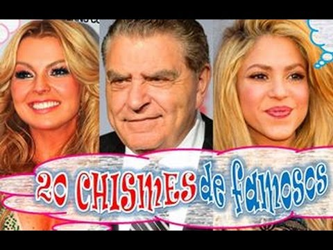 20 chismes de famosos ent rate noticias rumores Chismes de famosos argentinos 2016
