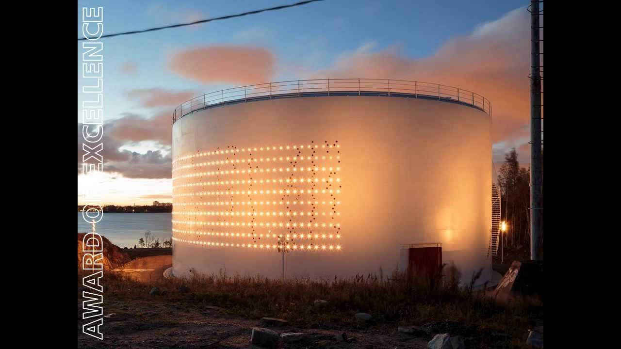 Light work silo helsinki by lighting design collective
