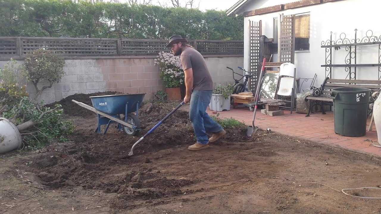 Backyard Ecological Landscape: Grading For Water Harvesting