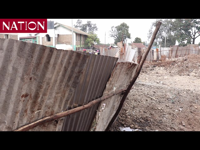 Section of Muthurwa Market in Nairobi closed for renovations