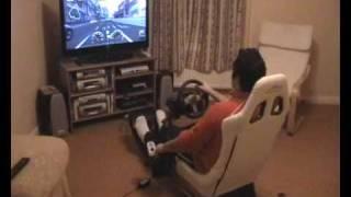 Gran Turismo 5 Prologue - Logitech G25 manual shift PS3