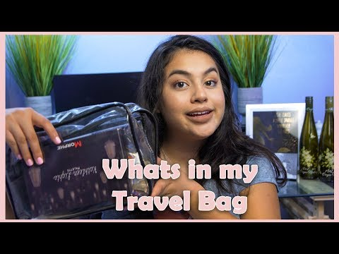Packing my Makeup Travel Bag! Tips for daily and airplane travel! | SAMI CIMBER BEAUTY