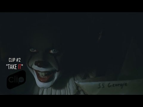 "IT - Movie Clip #2 - ""Take IT"" [720p HD]"