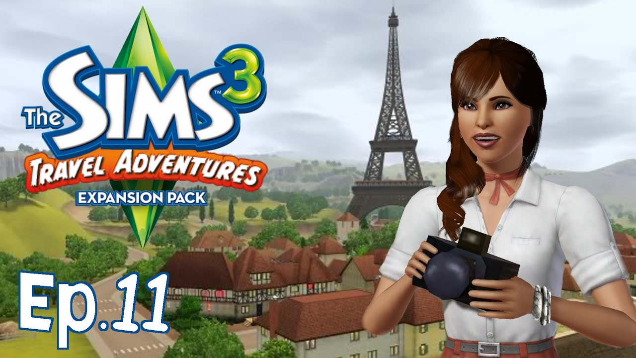 the sims 3 le catacombe del museo travel adventures gameplay ita youtube