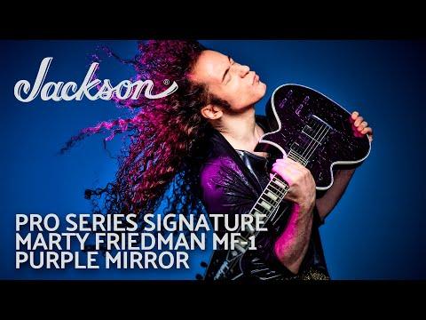 Marty Friedman Unleashes His Pro Series Signature MF-1 Purple Mirror
