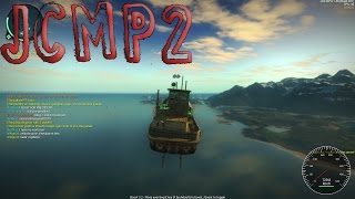 Just Cause 2 Multiplayer: Boats With Jump Jets!