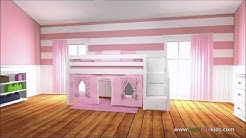 Maxtrix Girls Bedroom Furniture - The Bedroom Source