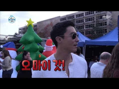 I Live Alone 나 혼자 산다  Daniel Henney, Amazing Holly wood food truck 20161216