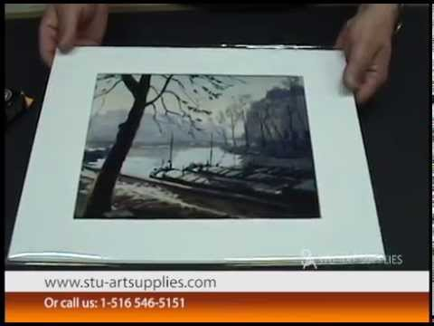 How To Mat A Picture - Tutorial By Stu-Art Supplies