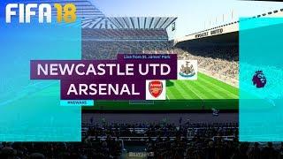 FIFA 18 - Newcastle United vs. Arsenal @ St. James' Park