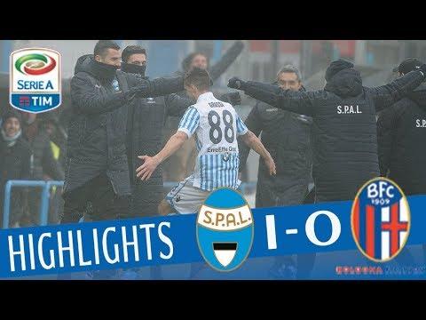 SPAL - Bologna 1-0 - Highlights - Giornata 27 - Serie A TIM 2017/18