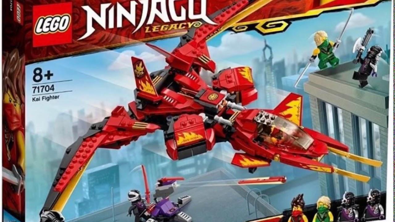 Lego Ninjago Legacy Kai Fighter 71704 Youtube
