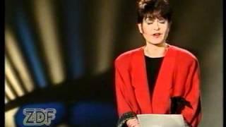Ansage ZDF Mit harten Fäusten, Sibylle Nicolai (1988)