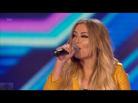 The X Factor UK 2016 6 Chair Challenge Faye Horne Full Clip S13E09