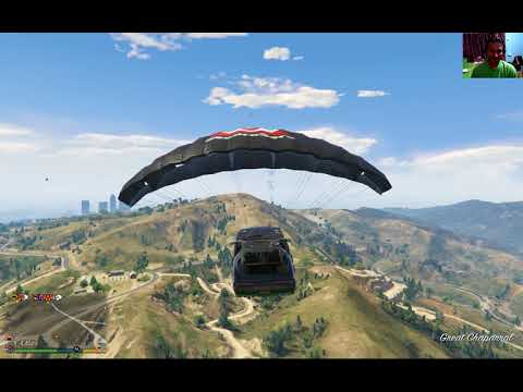 Trini Online Coop - GTA V - The Trouble With Flying a Car