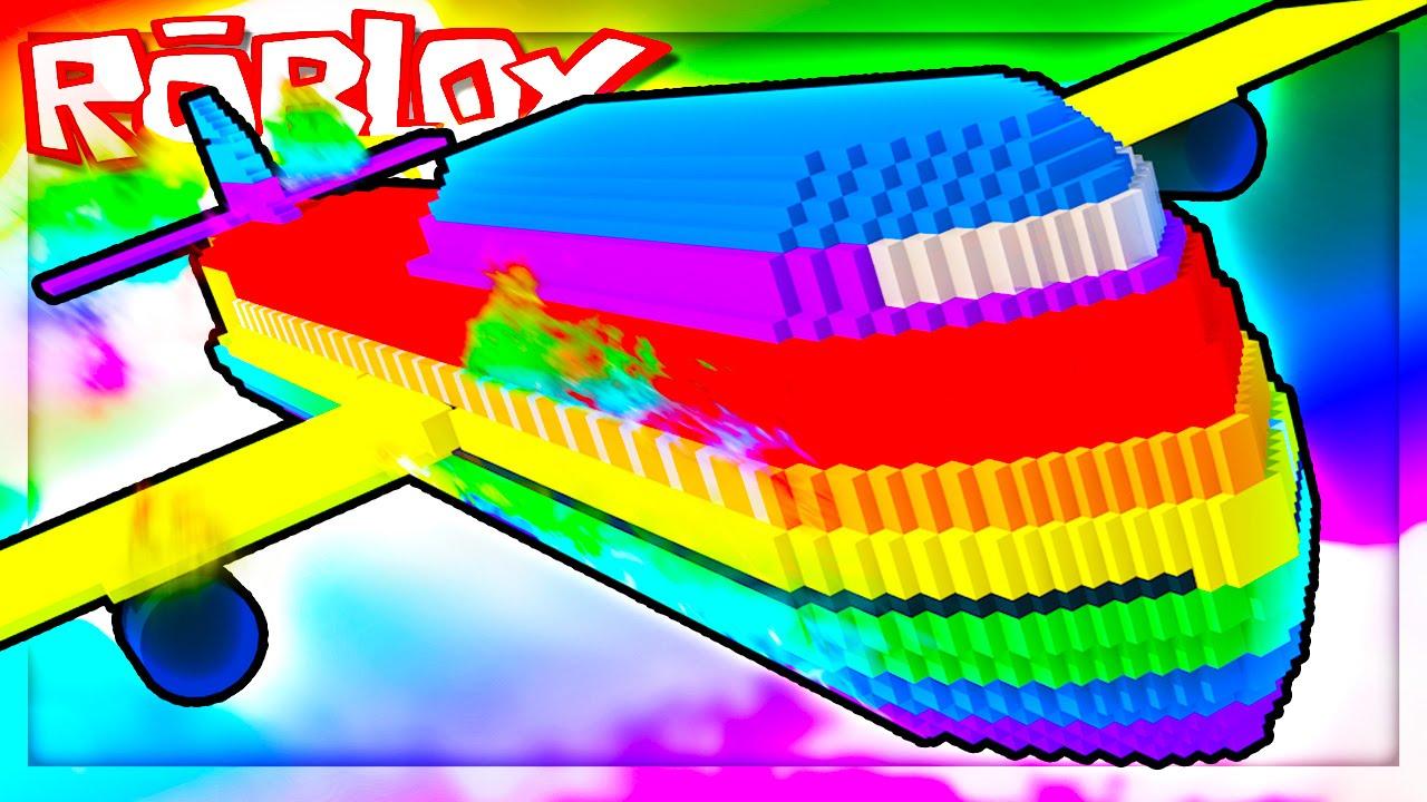 Survive An Insane Rainbow Plane Crash Roblox Rainbow Plane Crash Survival - survive plane crash roblox