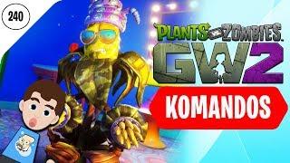 KOMANDOS KUKURYDZ NAJLEPSZY! - Plants vs Zombies Garden Warfare 2 (Gameplay Walkthrough)