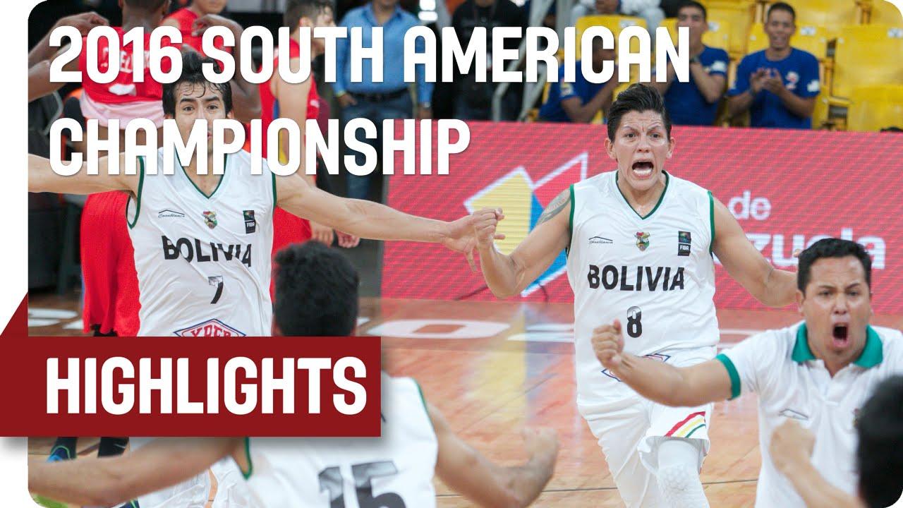 Bolivia (BOL) v Ecuador (ECU) - Game Highlights - Group A - 2016 FIBA South American Championship
