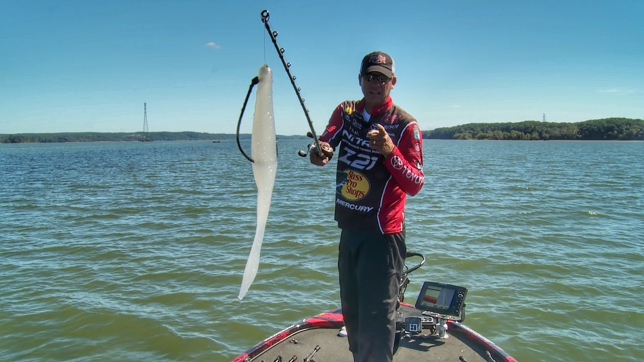 Fishing soft jerkbaits fast for bass with kvd youtube for Bass fishing jerkbaits