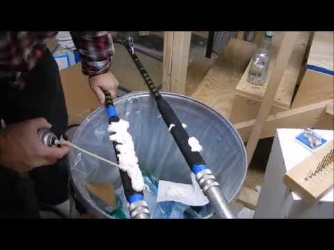 Foam Grip Repair On Custom 130 Pole