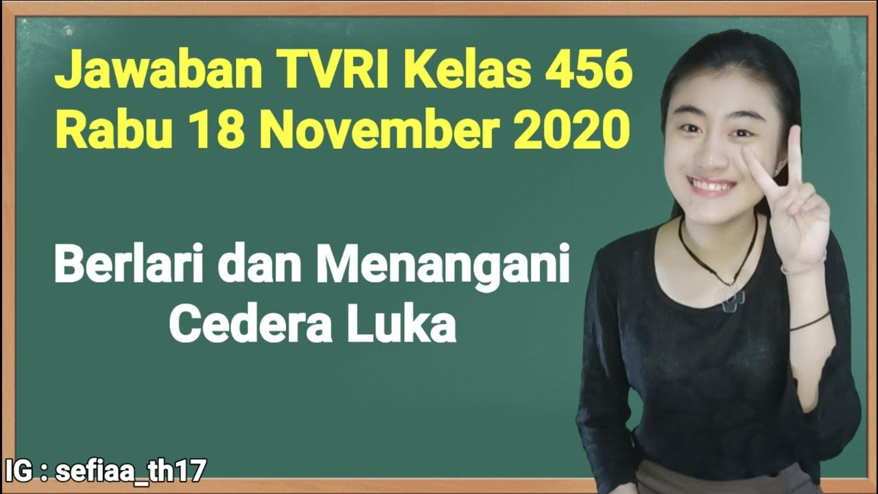 Kunci Jawaban TVRI Kelas 4-5-6 SD Rabu 18 November…