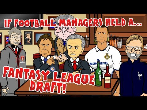 Thumbnail: If Football Managers Held a Fantasy League Draft! (Parody)