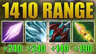 1410 Attack Range Impetus [Psi Blades + Chilling Touch + Impetus] Dota 2 Ability Draft