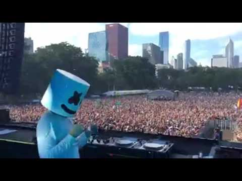 Marshmello - Alone (Performance)